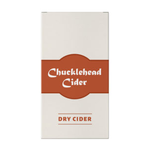 Chucklehead Dry Cider Box