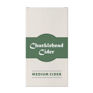 Chucklehead Medium Cider Box